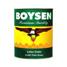 1405-L LITER BOYSEN LATEX COLOR THALO GREEN