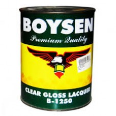 1250-L LITER BOYSEN CLEAR GLOSS LACQUER